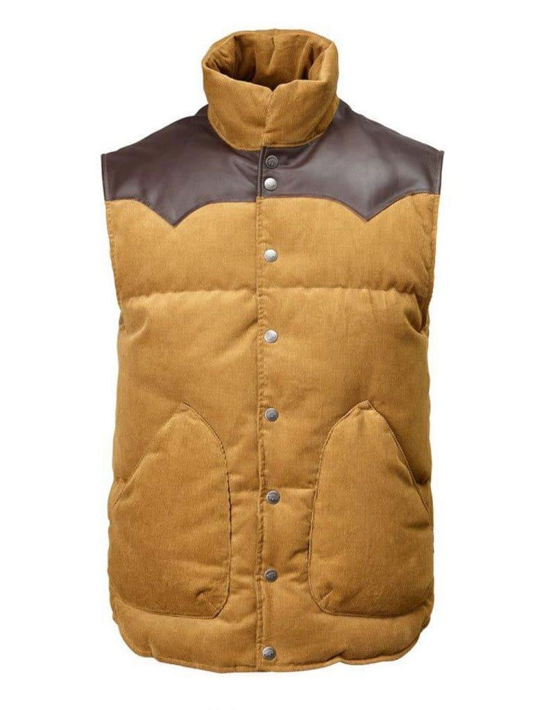2002 W's Original Cord Vest color Mojave